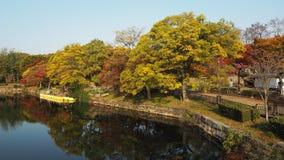 Liścia koloru zmiana w Japonia Obrazy Stock
