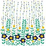 Liścia projekta natury kwiat Obrazy Royalty Free