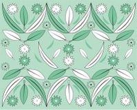 liście kwiatów royalty ilustracja