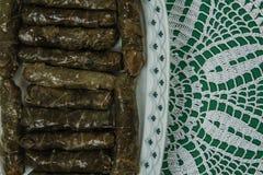 liście pluszowego winogron Zdjęcia Stock