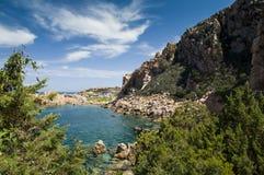 Li Cossi beach Costa Paradiso Sardinia island Italy Royalty Free Stock Photo