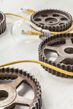Li Fi żarówki silnik Zdjęcie Stock