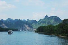Li-Fluss-Reiseflug Stockfotografie