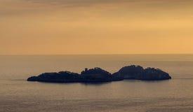 Li Galli (costa de Positano) Foto de Stock Royalty Free
