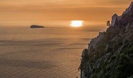 Li Galli (costa de Positano) Imagenes de archivo