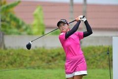 Li Jiayun van China in de Meester 2017 van PTT Thailand LPGA Royalty-vrije Stock Foto
