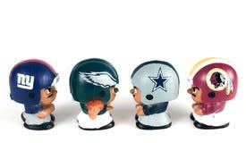 Li-` L Mannschaftskameraden NFC-Ostrivalität, Giants, Eagles, Cowboys und Indianer Lizenzfreie Stockfotografie