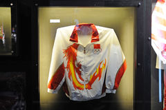 Li ning,Chinese team outfit in Sydney 2000 Olympic Stock Photos