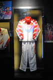Li ning,Chinese team outfit in Sydney 2000 Olympic Royalty Free Stock Images