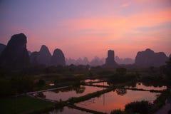 Li River Royaltyfri Fotografi