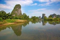 Li River Fotografering för Bildbyråer