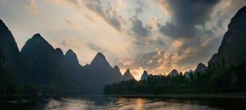 Li River Foto de Stock Royalty Free