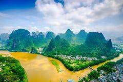 Li River in China Lizenzfreie Stockfotografie