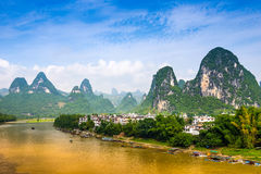 Li River in China stock foto