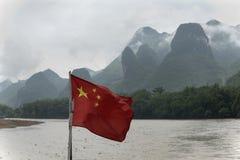 On the Li River, China Stock Image