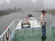Li River Cruise Stock Photos
