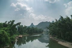 Li River en China fotografía de archivo libre de regalías