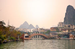 Li River, Guilin, China Stock Photo