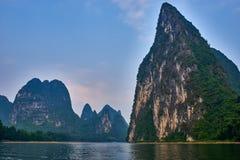 Li river, Guilin Yangshuo Guangxi  China Royalty Free Stock Photo