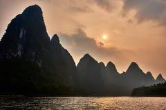 Li river, Guilin Yangshuo Guangxi  China Stock Images
