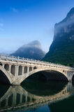 Li river karst mountain landscape Royalty Free Stock Photography