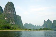 Li river near Yangshuo Stock Image