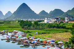 Li River Scene Royalty Free Stock Photo
