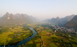 Li River Valley Photographie stock