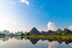 Li river in Yangshuo Stock Images