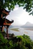 Li-rivier, China Stock Foto