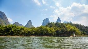 Li Rzeczny Li Jiang blisko Xingping, Chiny Zdjęcie Stock