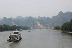 Li rzeka Zdjęcia Stock