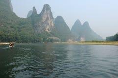 Li rzeka przy XingPing Zdjęcie Royalty Free