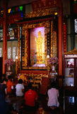 Li Thi Miew Chinese Temple Royalty Free Stock Images
