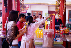 Li Thi Miew Chinese Temple Royalty Free Stock Photo