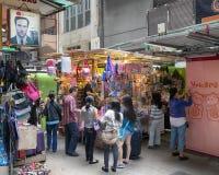 Li Yuen Uliczny rynek w Hong Kong Obraz Royalty Free