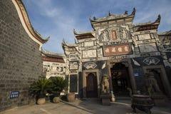 Li Zhuang Jade Buddha Temple door Stock Photos