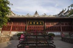 Li Zhuang Jade Buddha Temple Main Hall. Eastphoto, tukuchina,  Li Zhuang Jade Buddha Temple Main Hall Royalty Free Stock Photography