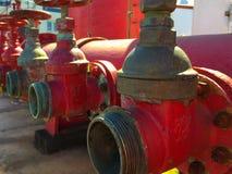 Liaison de tuyau d'incendie Photographie stock libre de droits