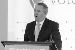 Liam Fox C royalty free stock photography