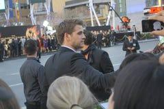 Liam Hemsworth royalty-vrije stock foto's