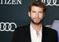 Liam Hemsworth imágenes de archivo libres de regalías