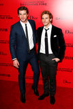Liam Hemsworth, Sam Chaflin Stock Photo