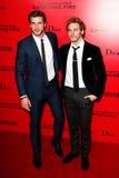 Liam Hemsworth, Sam Chaflin Stock Photo