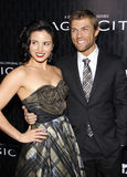 Liam McIntyre and Katrina Law Royalty Free Stock Images