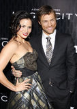 Liam McIntyre and Katrina Law Royalty Free Stock Image
