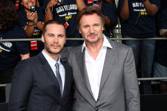 Liam Neeson,Taylor Kitsch Stock Images