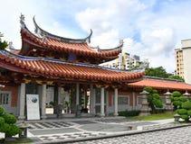 Lian Shan Shuang Lin Monastery, Singapore immagine stock libera da diritti