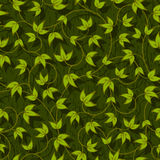 Liana floral abstract seamless. Floral liana leaves abstract seamless background texture pattern vector illustration