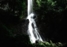 Liang kihung waterfall. Located in West borneo, Kapuas Hulu District Indonesia Royalty Free Stock Images